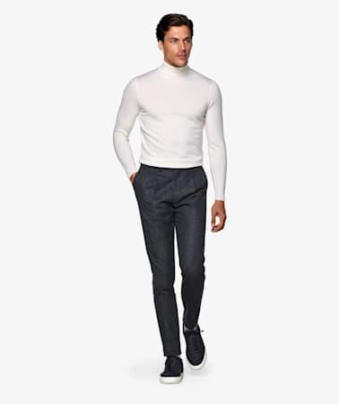 Dark Grey Braddon Trousers