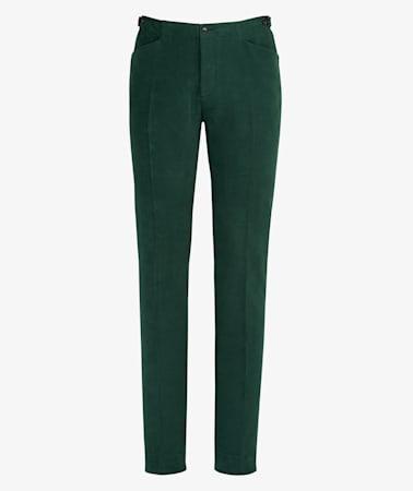 Green_Jort_Casual_Trousers_B1090I