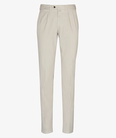 Stone Porto Pleat Washed Chino