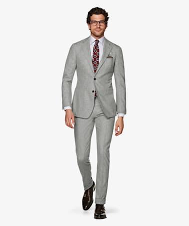 Light Grey Braddon Gurkha Trousers