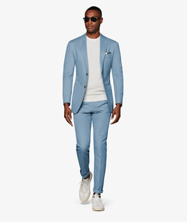 Light Blue Brentwood Trousers