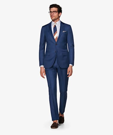 Mid Blue  Brescia Trousers