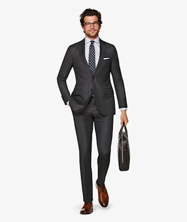 Dark Grey  Brescia Trousers