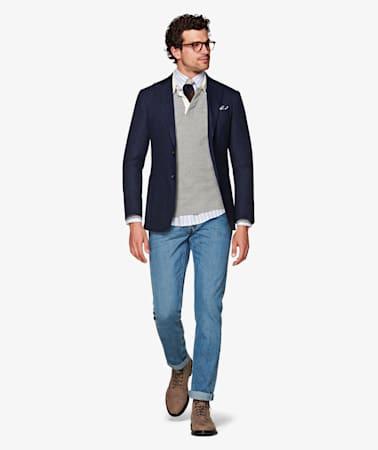 Light Blue Alain Selvedge Jeans