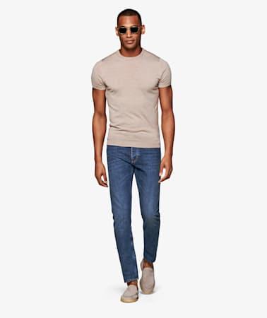 Blue 5 Pocket Alain Jeans