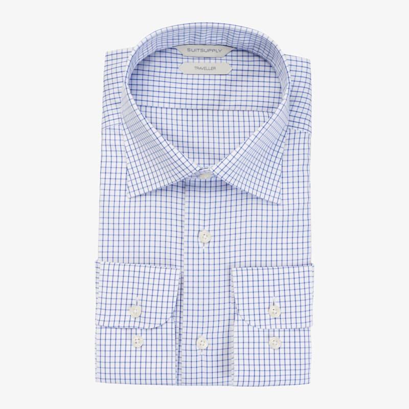 Blue_Windowpane_Traveller_Shirt_Single_Cuff_H5893U