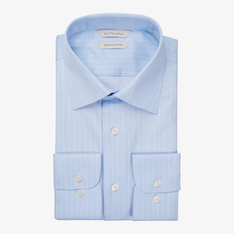 Light_Blue_Stripe_Shirt_Single_Cuff_H6049U