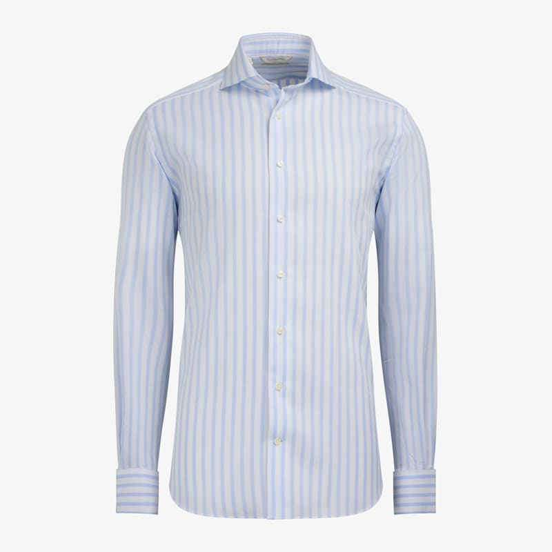 Light_Blue_Stripe_Shirt_Single_Cuff_H6145