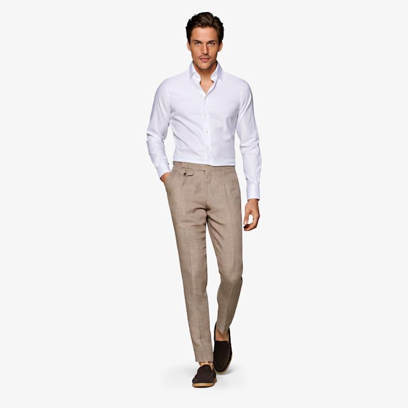 White_Oxford_Traveller_Shirt_Single_Cuff_H9002ESF