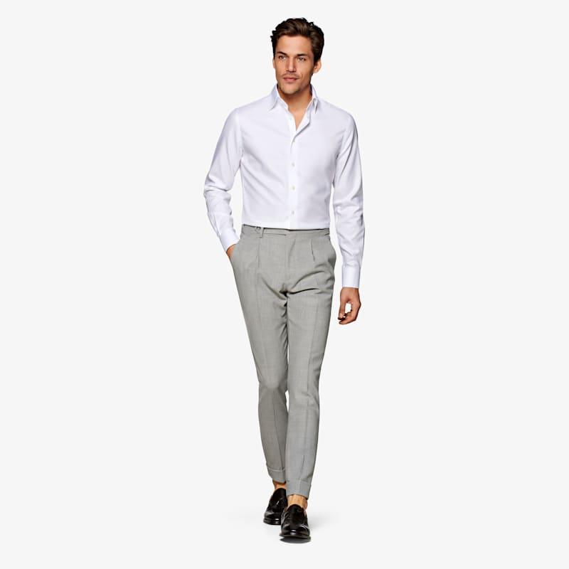 White_Oxford_Traveller_Shirt_Single_Cuff_H9002U