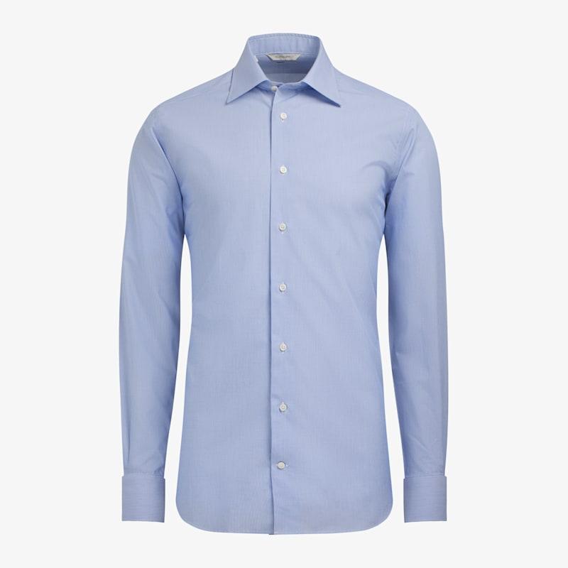 Mid_Blue_Hairline_Poplin_Traveller_Shirt_Single_Cuff_H9005U