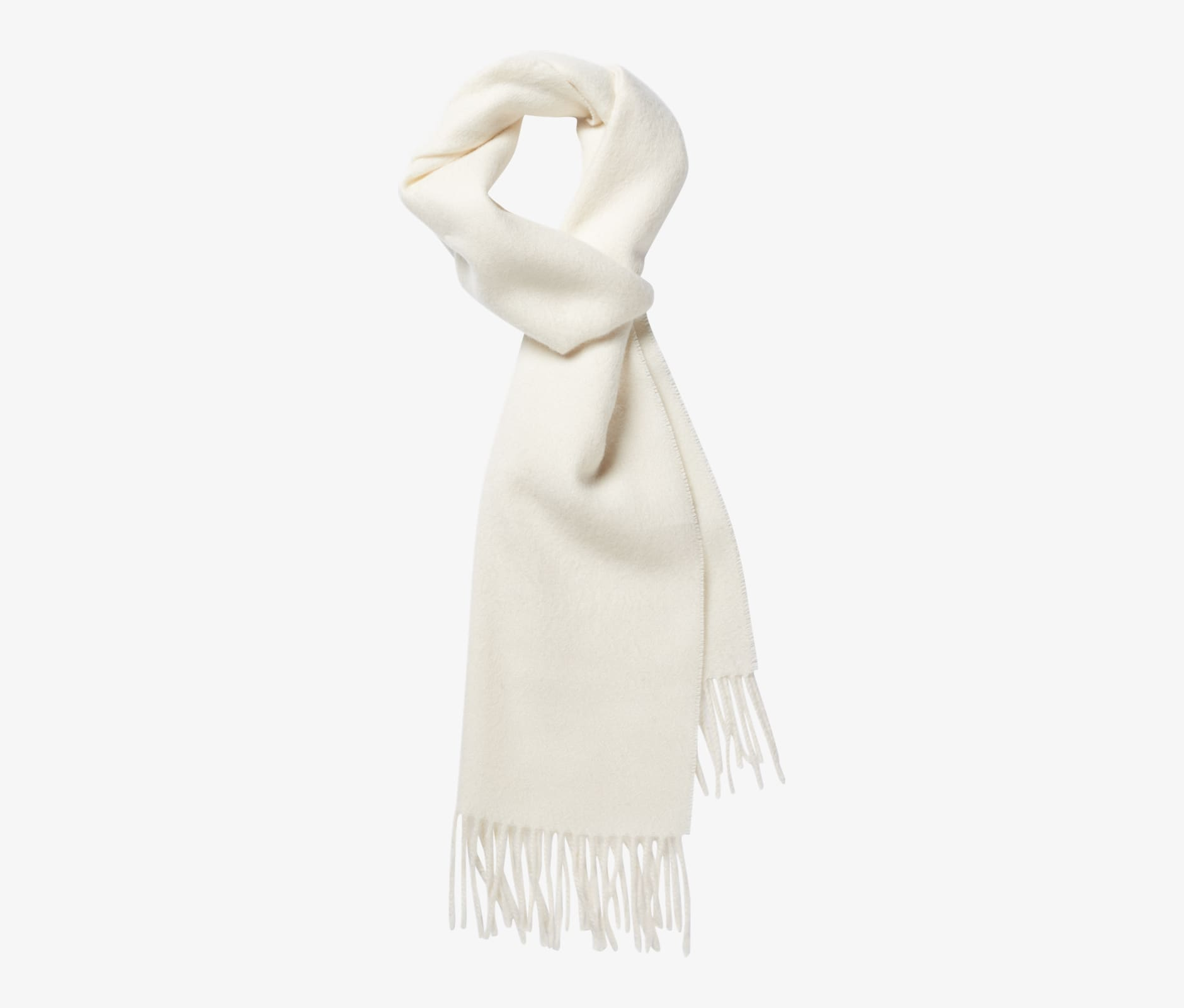 Off White Scarf