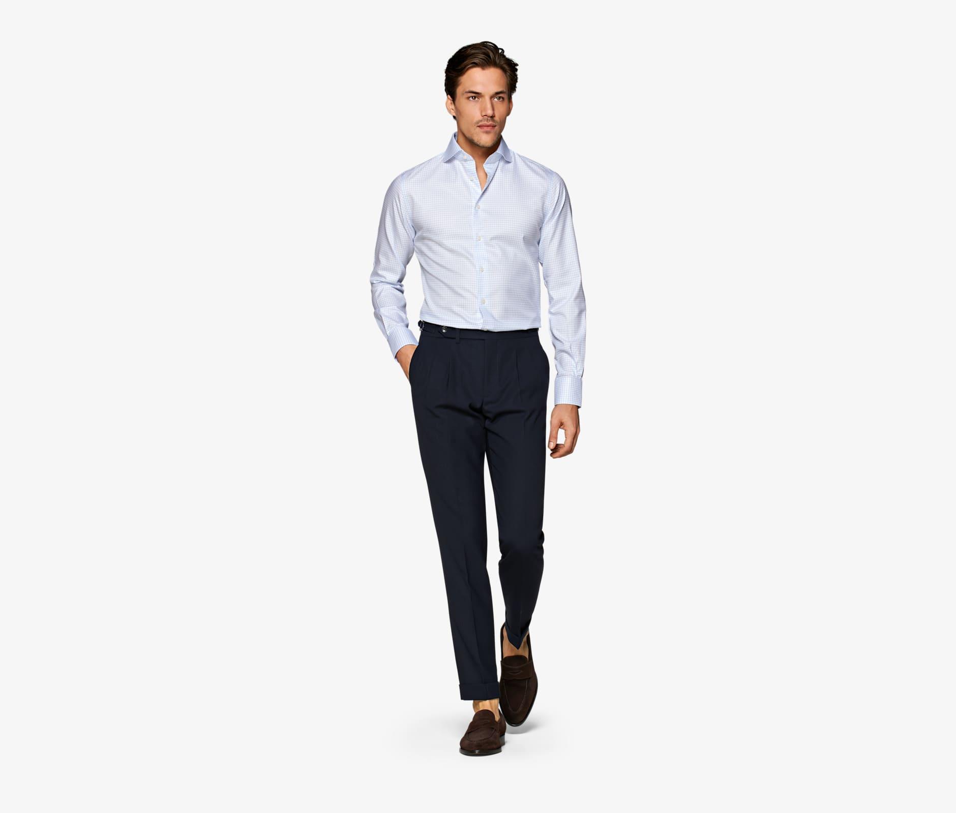 Blue_Windowpane_Traveller_Shirt_Single_Cuff_H9010U