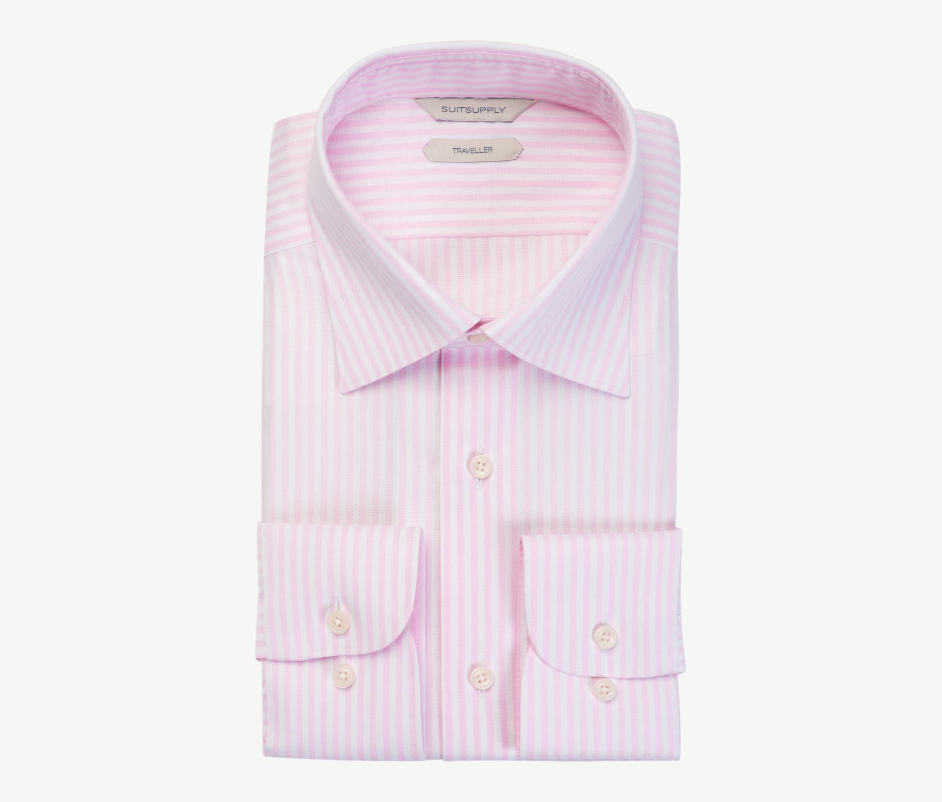 Pink_Stripe_Traveller_Shirt_Single_Cuff_H9025U