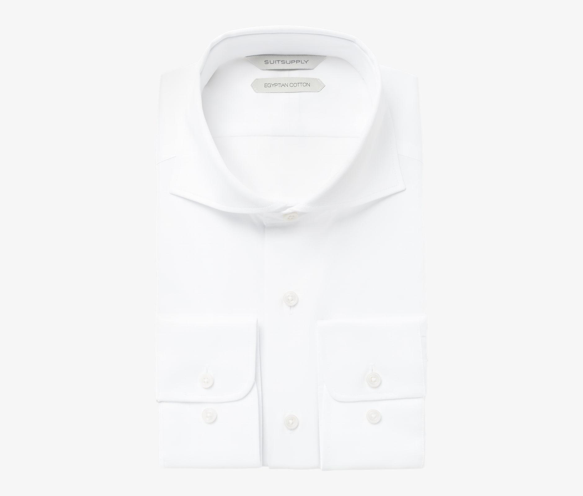 White_Twill_Shirt_Single_Cuff_H9094U