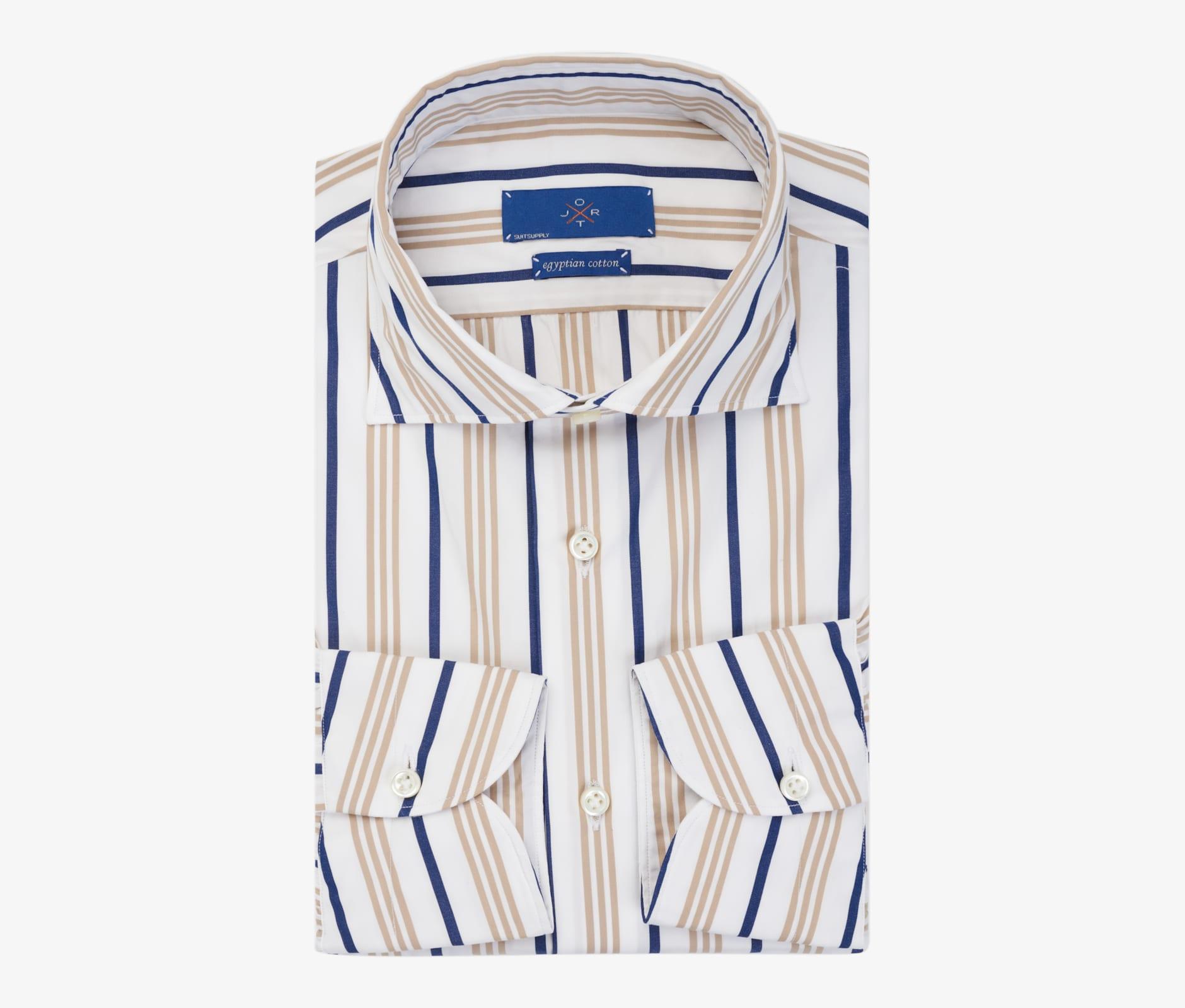 Jort_Multicolor_Stripe_Shirt_Single_Cuff_SH120B-J
