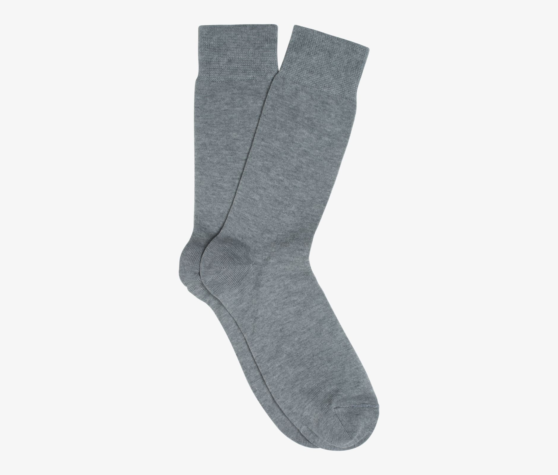 Light_Grey_Regular_Socks_O602