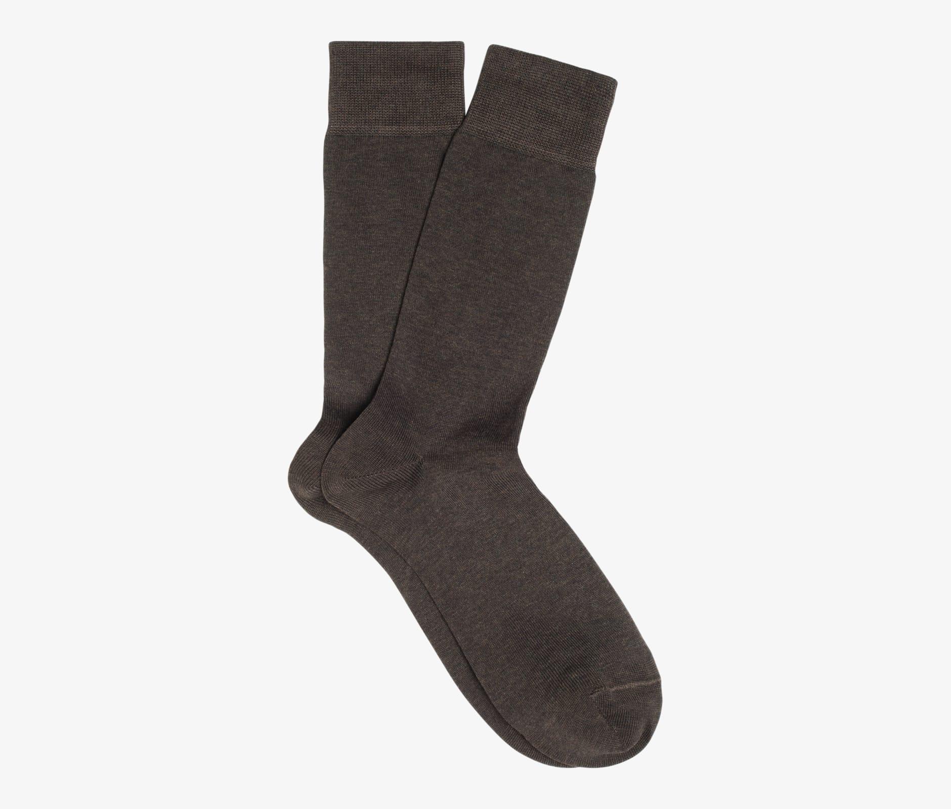 Brown_Regular_Socks_O604