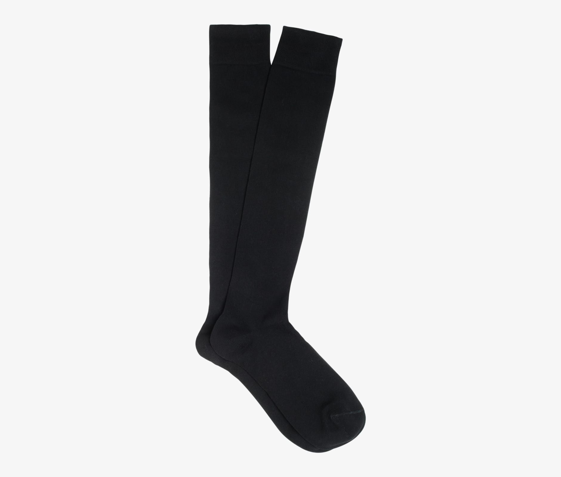 Black_Knee_high_Socks_O606