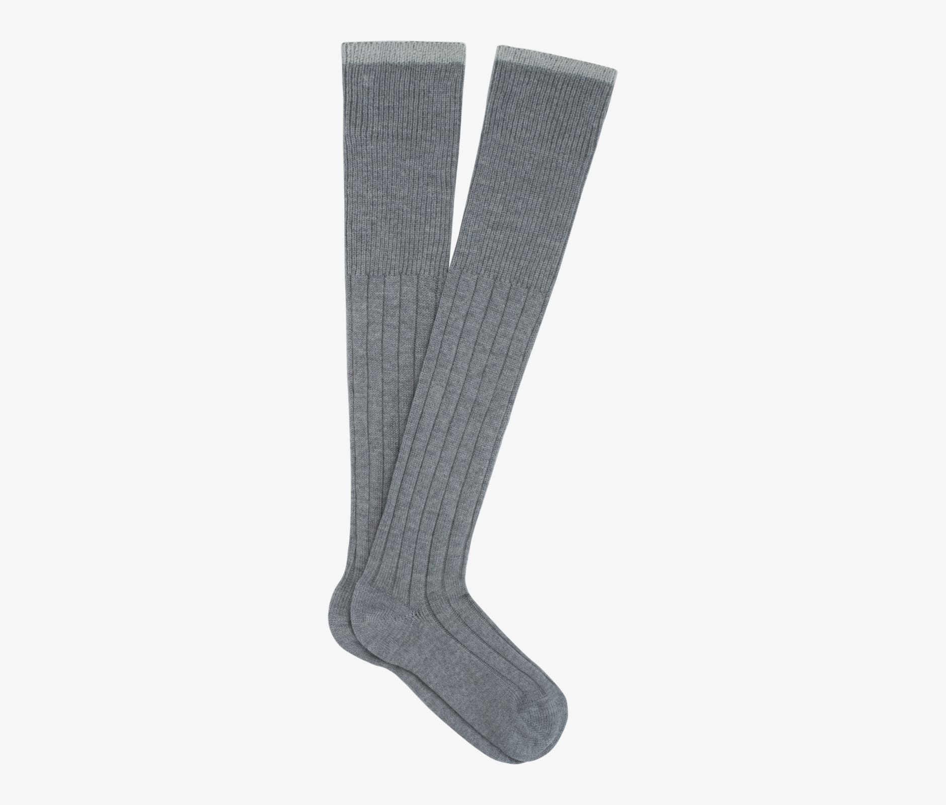 Grey_Knee_high_Socks_O709