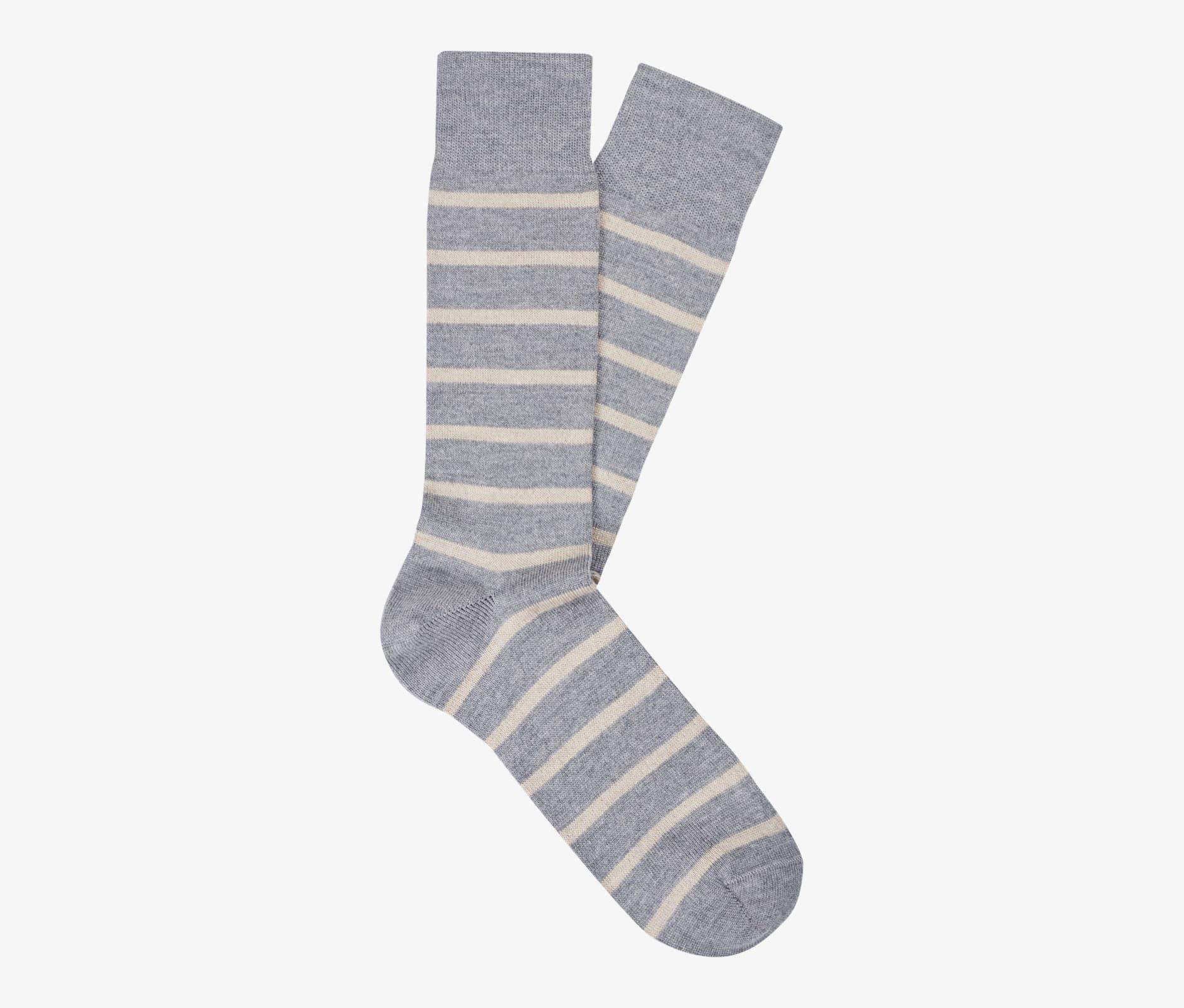 Grey_Regular_Socks_O726