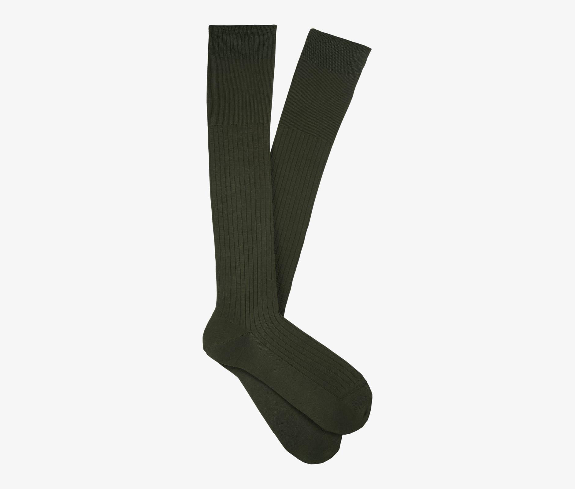 Green_Knee_high_Socks_O733