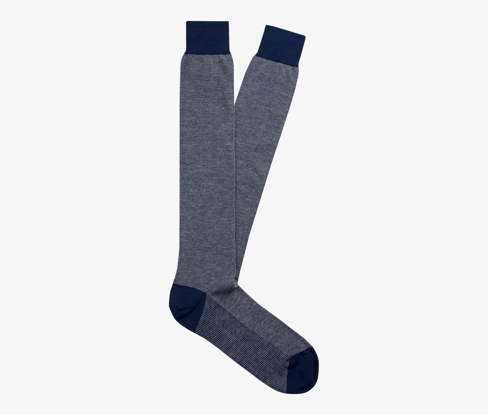 Navy_Knee_high_Socks_O734