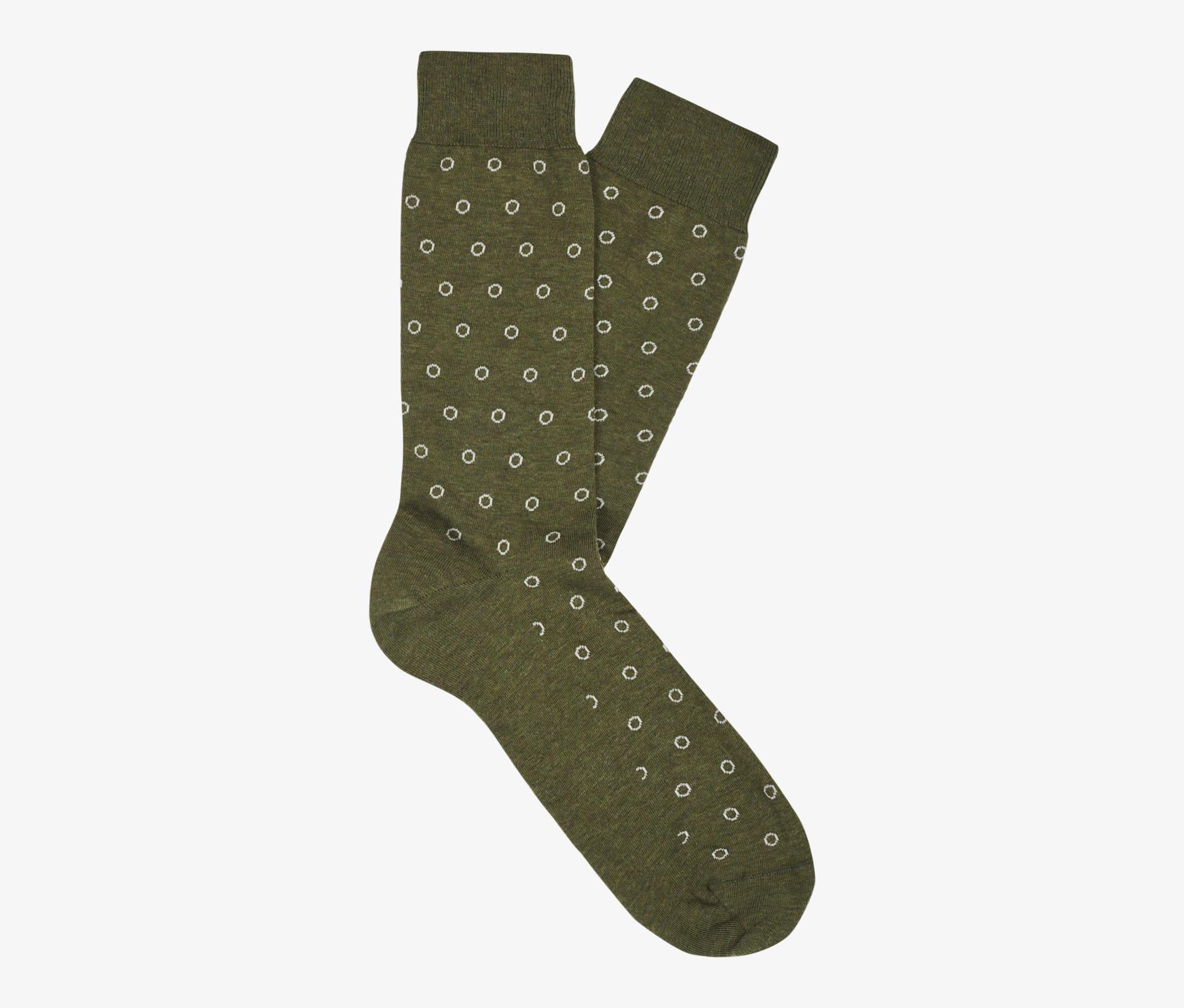 Green_Regular_Socks_O740