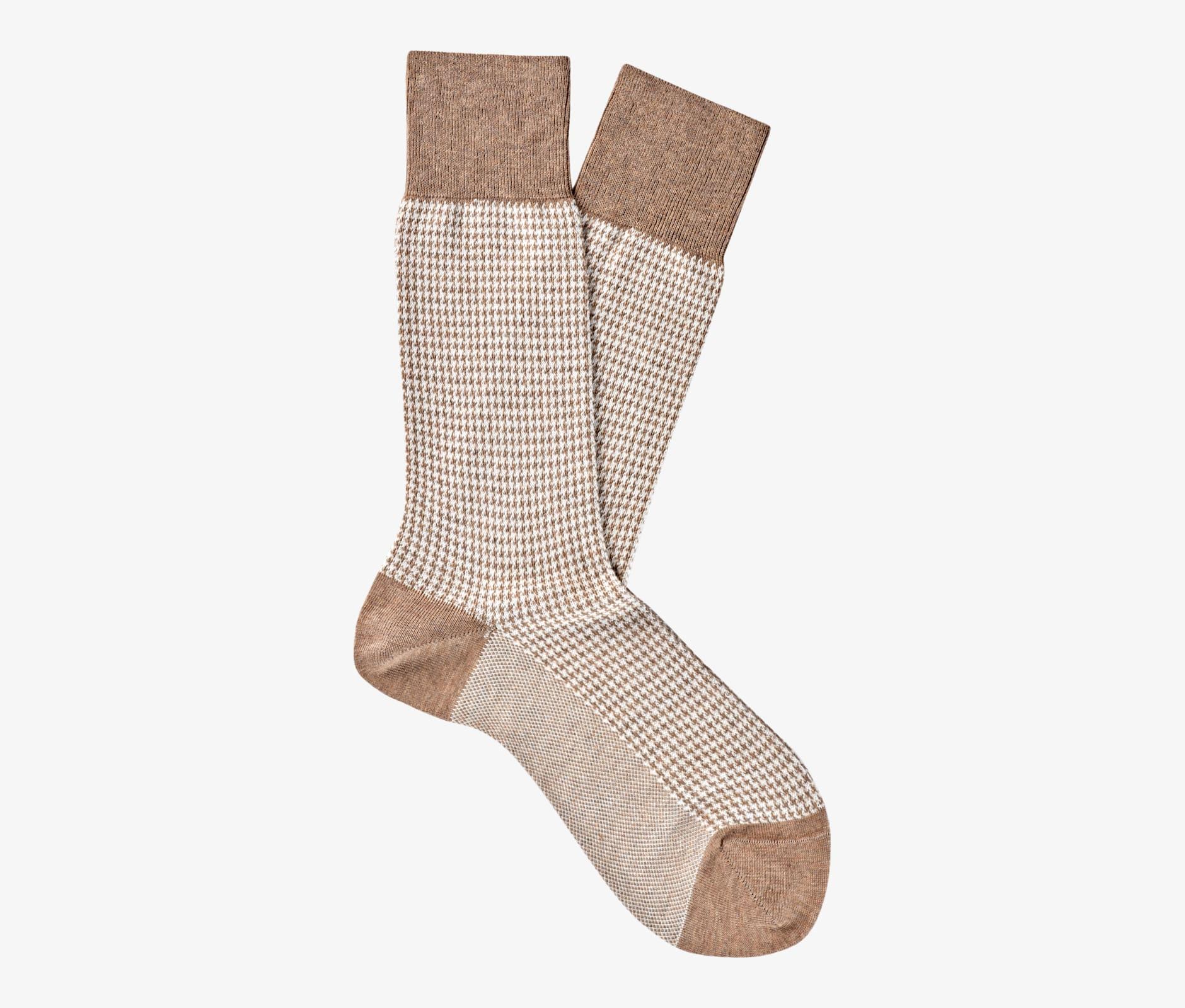 Brown_Regular_Socks_O753