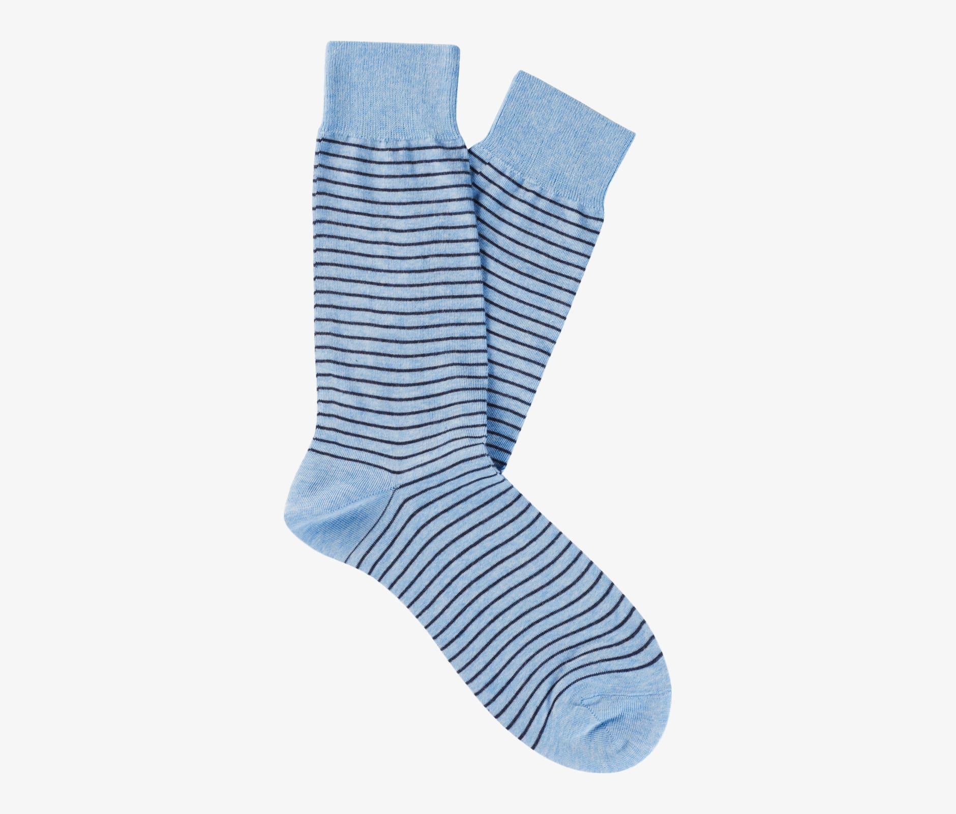 Blue_Regular_Socks_O756