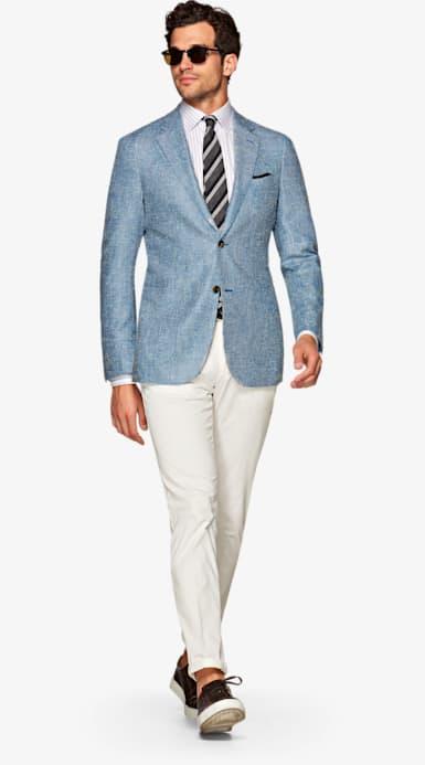 Jacket_Blue_Plain_Havana_C1203I