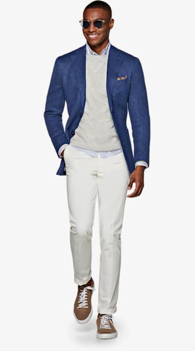 Jacket_Blue_Plain_Havana_C1313I