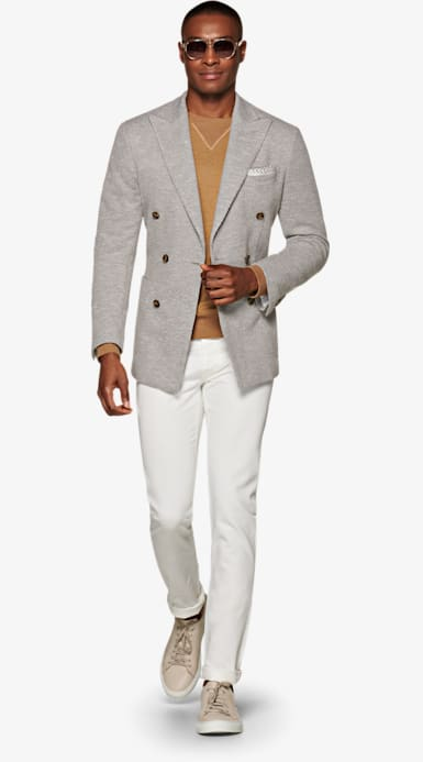 Jacket_Light_Grey_Plain_Havana_C1319I