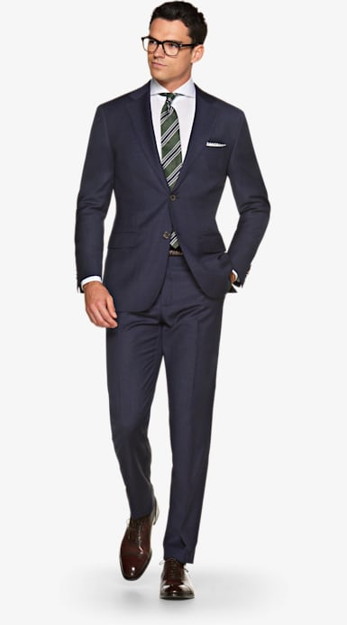 Suit_Navy_Basket_weave_Napoli_P5288I