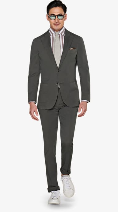 Suit_Dark_Green_Plain_Havana_P5792