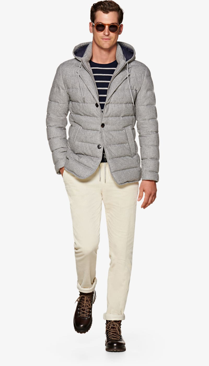 30bcf1f079b Light_Grey_Down_Jacket_J642I. Video. Images. Light Grey Down Jacket ...