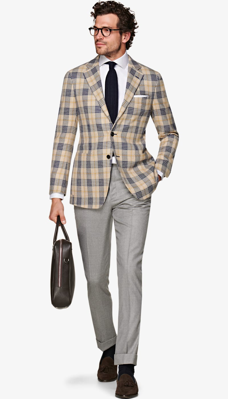 Jacket_Light_Brown_Check_Jort_C1493I