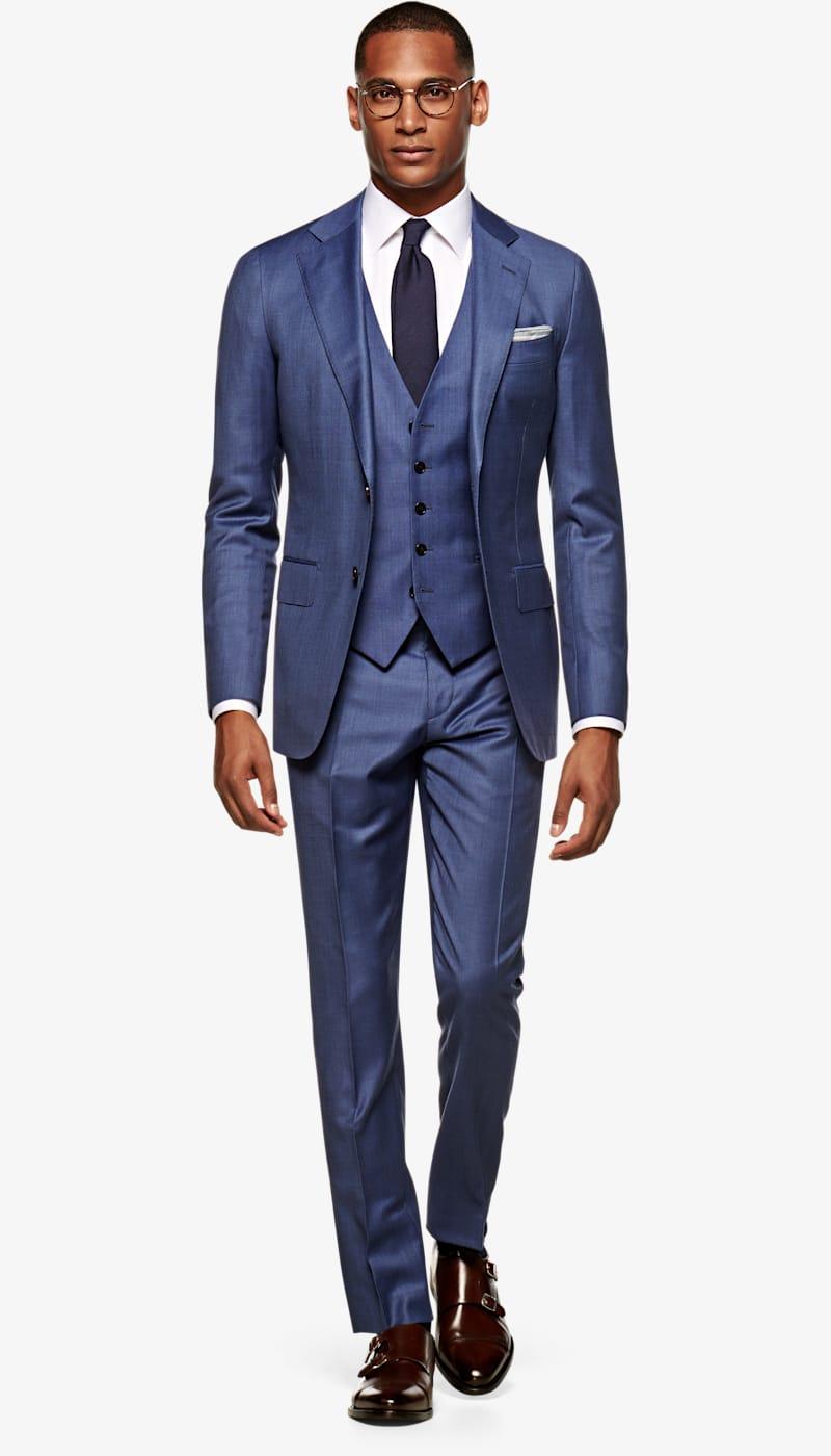 Suit_Mid_Blue_Plain_Lazio_P4302EI