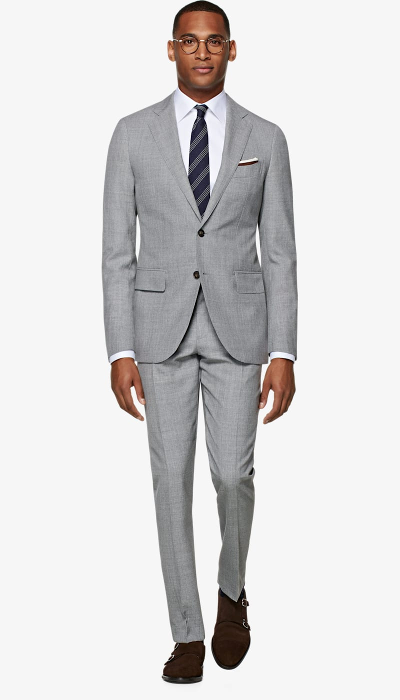 Suit_Light_Grey_Plain_Lazio_P5293