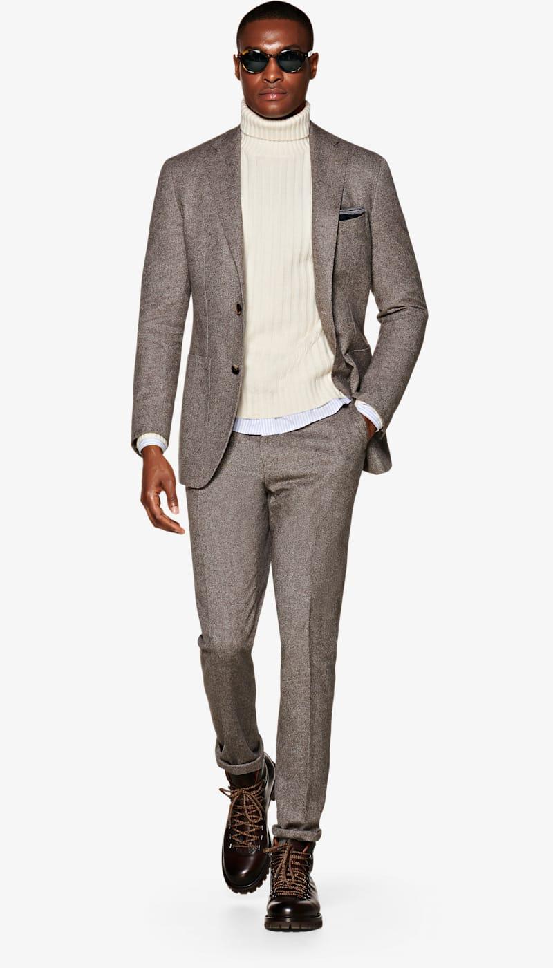 Suit_Mid_Brown_Plain_Havana_P5500