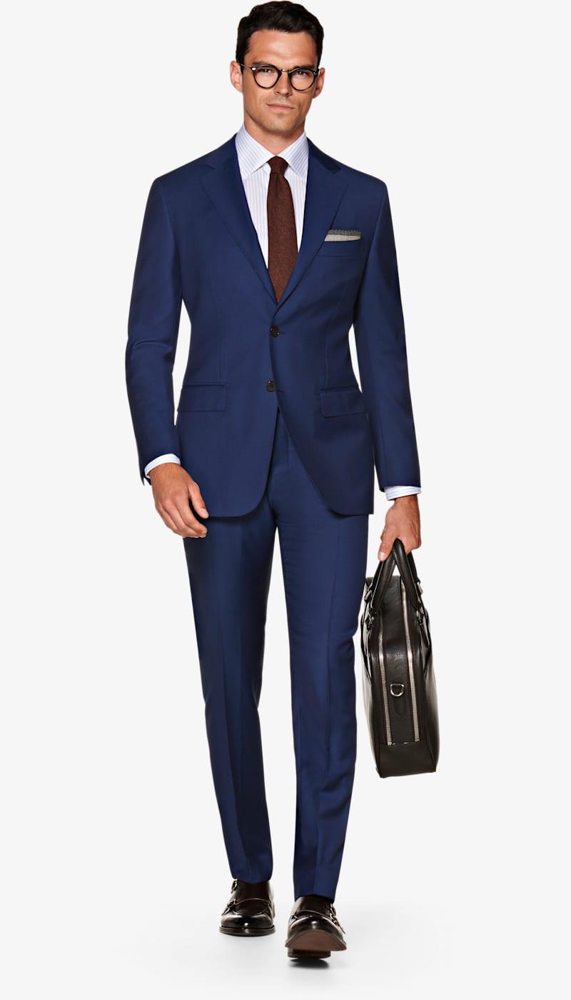 Suit_Mid_Blue_Basket_weave_Napoli_P5575I