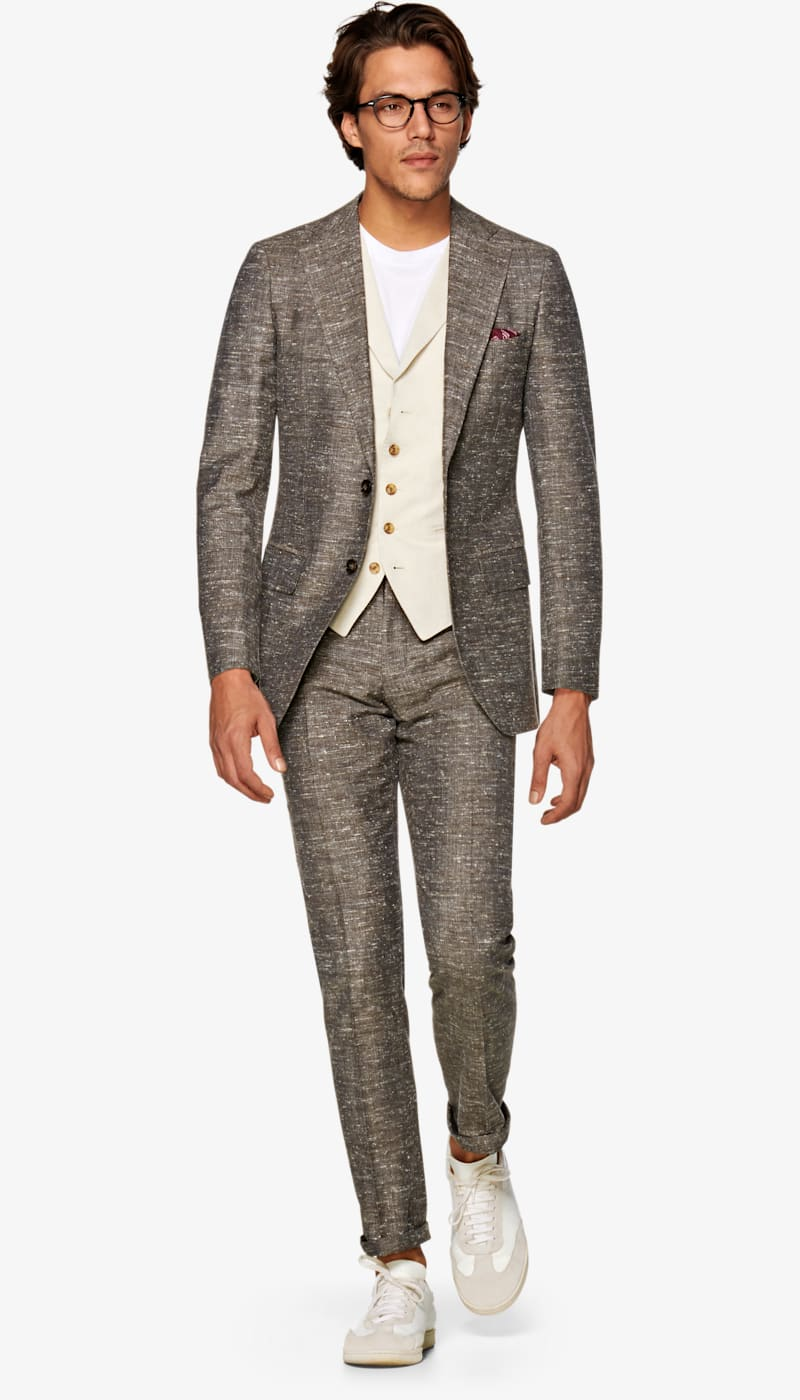 Suit_Mid_Brown_Plain_Lazio_P5730I