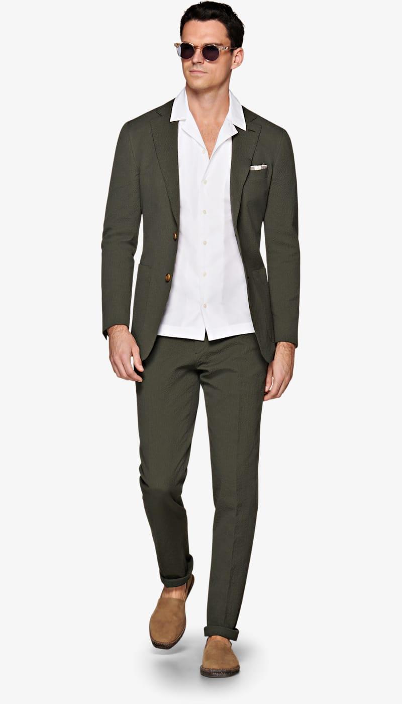 Suit_Dark_Green_Plain_Havana_P5762I