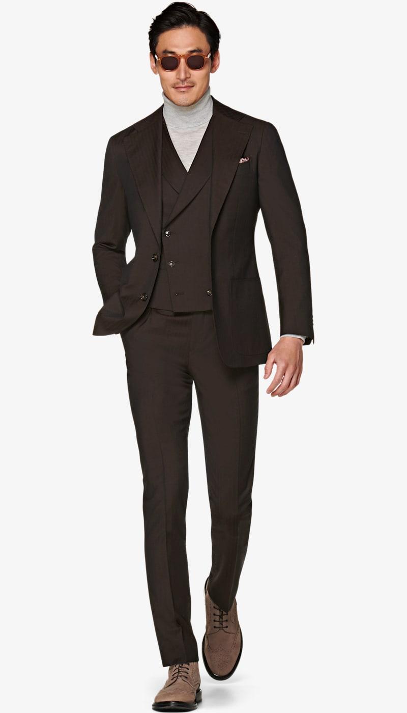 Suit_Brown_Plain_Havana_P5901