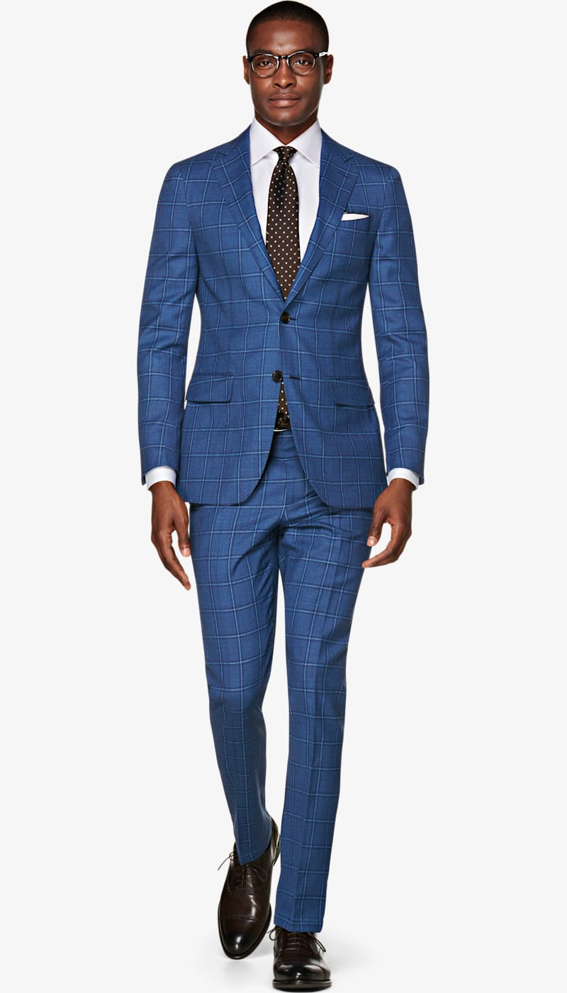 Suit_Mid_Blue_Check_Sienna_P5917I
