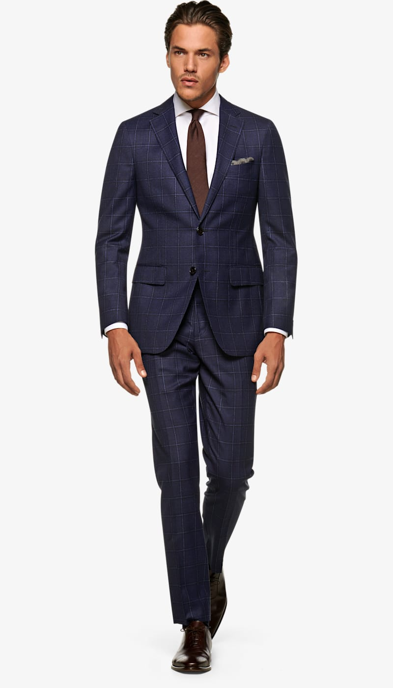 Suit_Navy_Check_Sienna_P5920I