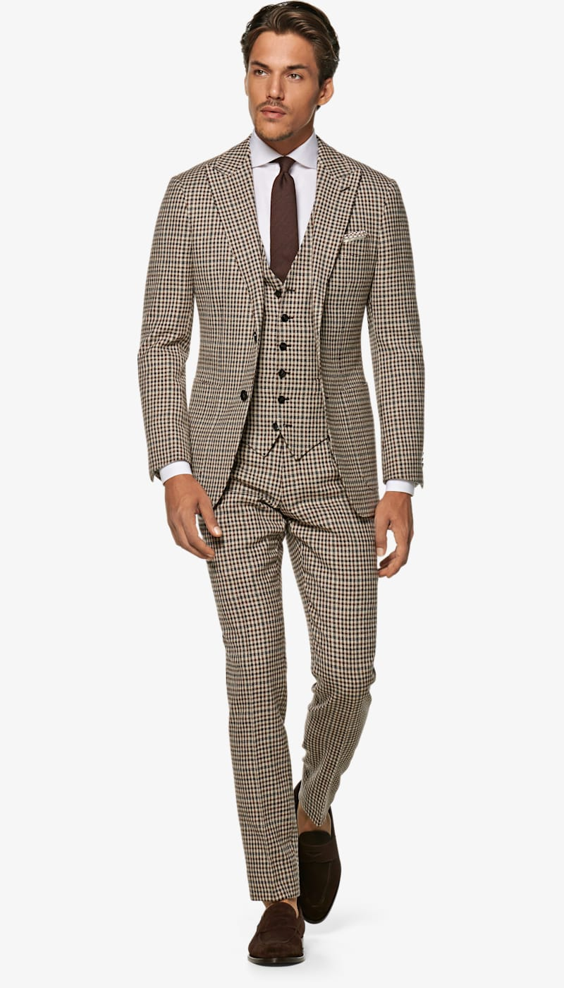 Suit_Brown_Check_Havana_P5925I