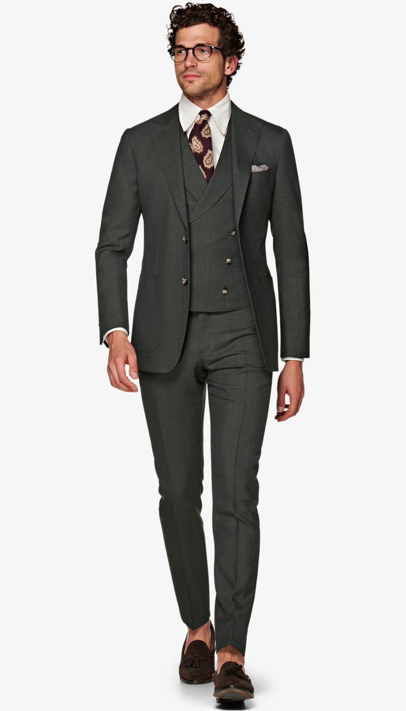 Suit_Green_Plain_Havana_P5943I