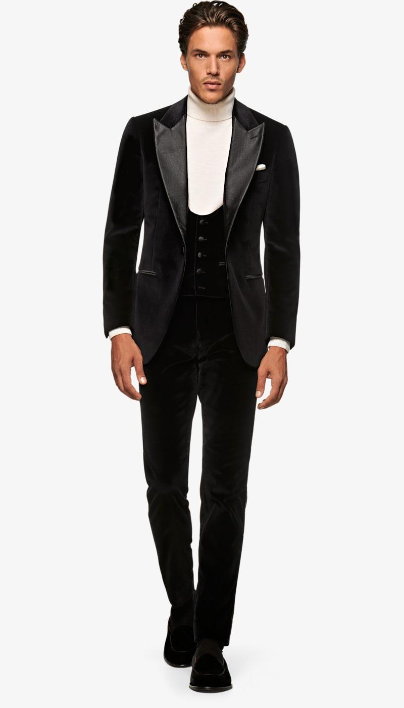 Suit_Black_Plain_Lazio_P5989I