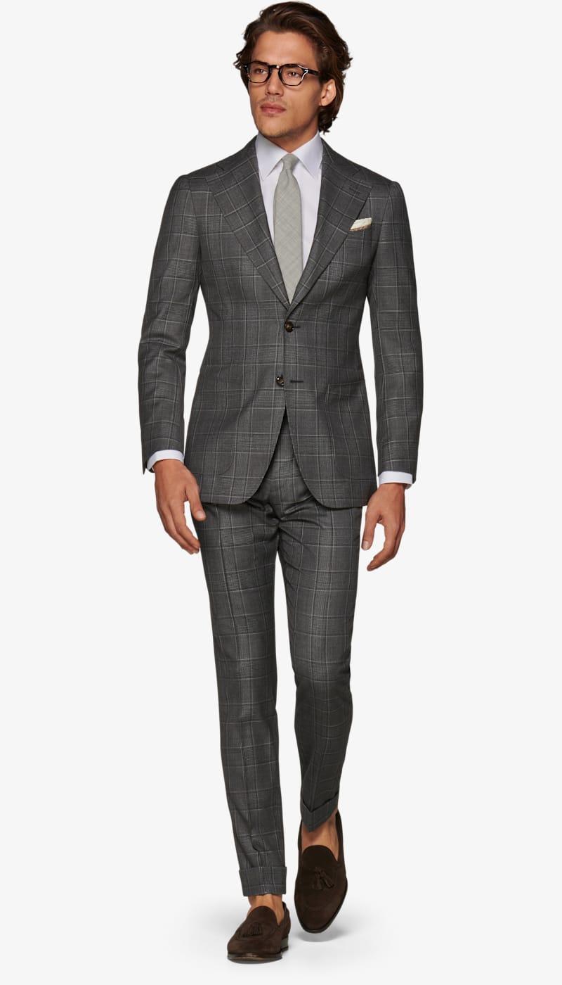 Suit_Dark_Grey_Check_Havana_P6018I